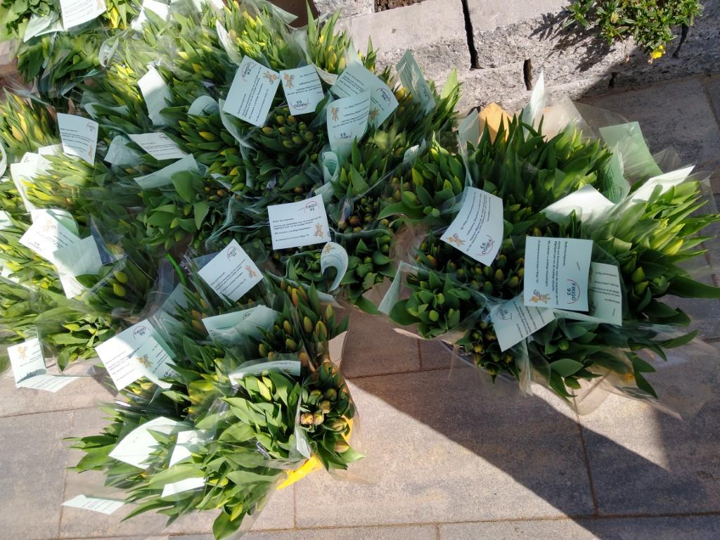 Bloemenactie Bewonerscommissie FiRigo '93